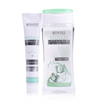 Gift Set Anti-Wrinkle Treatment REVUELE Hydralift Hyaluron