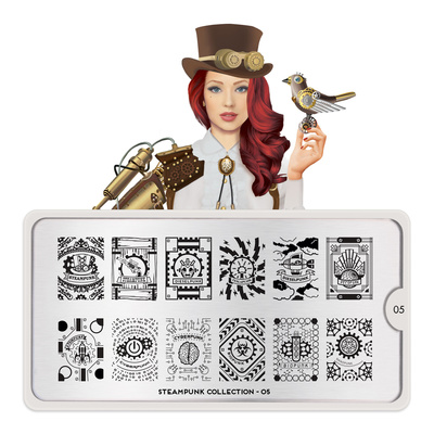 Šablon za pečate MOYOU Steampunk 05