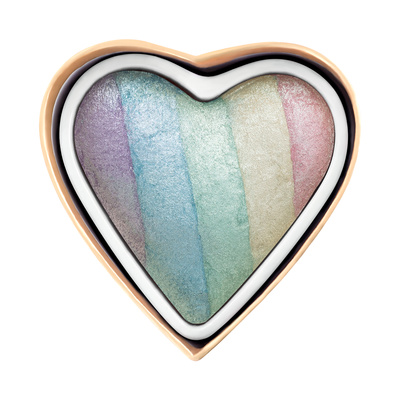 Highlighter I HEART REVOLUTION Unicorns Heart 10g