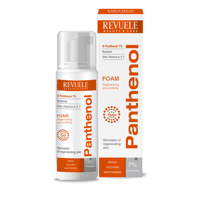 Foam For Different Burns Types REVUELE Panthenol 150ml