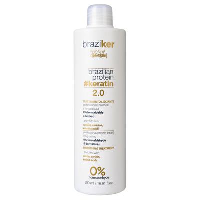 Keratinsko ispravljanje kose BRAZIKER 3ME Brazilian Protein 500ml