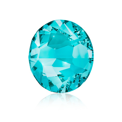 Kristali za nokte SWAROVSKI A 2058 Xilion Rose Enhanced SS5 Blue Zircon 40/1