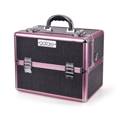 Kofer za šminku, kozmetiku i pribor GALAXY TC-3203BG Crni gliter