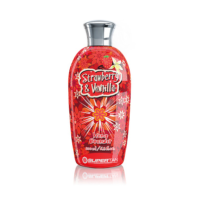 Krema za solarijum SUPERTAN Strawberry&Vanilla 200ml