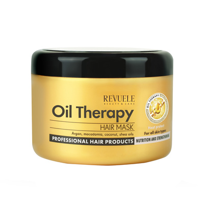 Maska za jačanje kose REVUELE Argan Oil Therapy 500ml