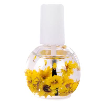 Ulje za zanoktice sa suvim cvećem DFNO-02 Žuto 12ml
