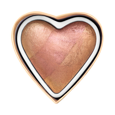 Rumenilo I HEART REVOLUTION Blushing Hearts Peachy Keen Heart 10g