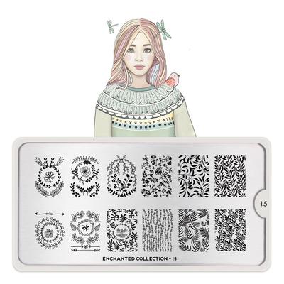 Šablon za pečate MOYOU Enchanted 15