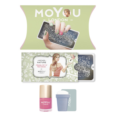 Stamping set MOYOU Mother Nature