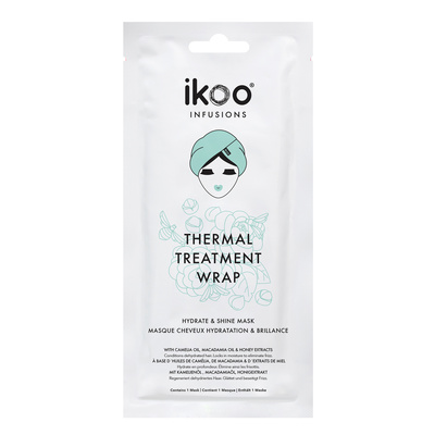 Termalna maska za hidrataciju i sjaj kose IKOO Infusions Thermal Treatment Wrap 35g