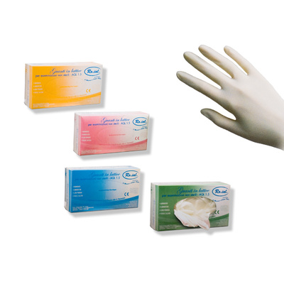 Latex Gloves With Powder ROIAL White L 100pcs