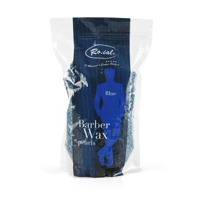 Vosak za toplu depilaciju u perlama ROIAL Plavi - granule 800g