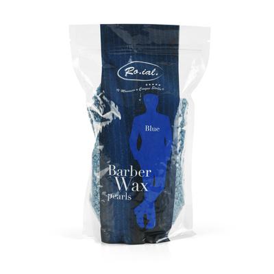 Vosak za toplu depilaciju u perlama ROIAL Plavi 800g