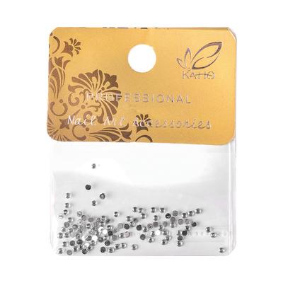 Zircons For Nail Art ENS Silver 100pcs