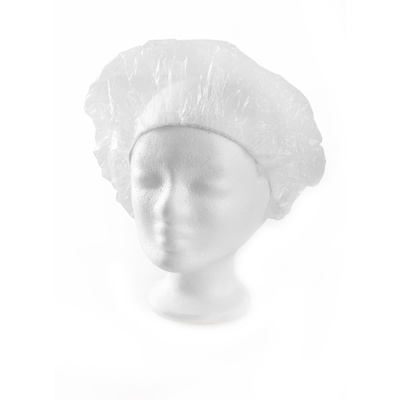Kapa za tuširanje i mini-val PVC P006A Bela 10/1