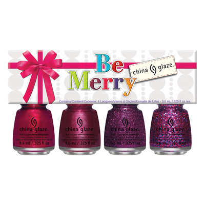 Set lakova za nokte CHINA GLAZE Be Marry 4x9,76ml