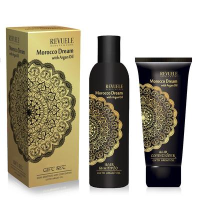 Shampoo & Conditioner Set REVUELE Morocco Dream 250ml+200ml
