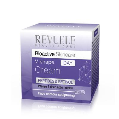 Dnevna krema za regeneraciju kože REVUELE Bioactive V-shape Peptides&Retinol 50ml