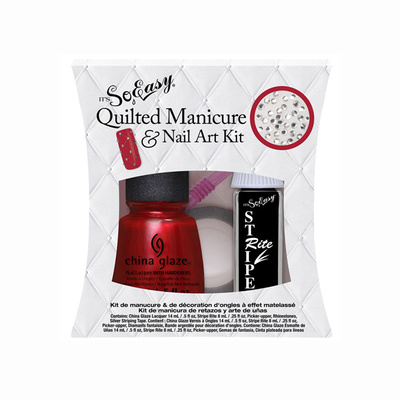 Quilted Manicure za Nail Art u setu IT'S SO EASY 5/1