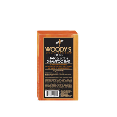WOODY'S  Hair Body Soap 227g