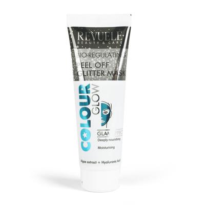Gliter maska za hidrataciju kože lica REVUELE Colour Glow 80ml