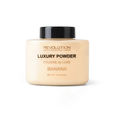 Završni puder u prahu REVOLUTION MAKEUP Luxury Banana Powder 42g