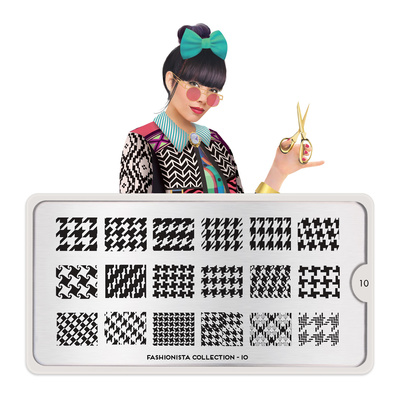 Šablon za pečate MOYOU Fashionista 10