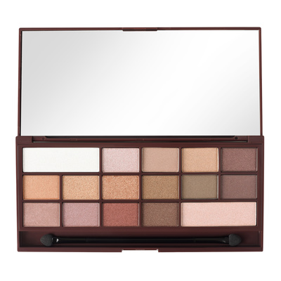 Eyeshadow Palette I HEART REVOLUTION Chocolate Golden Bar 22g