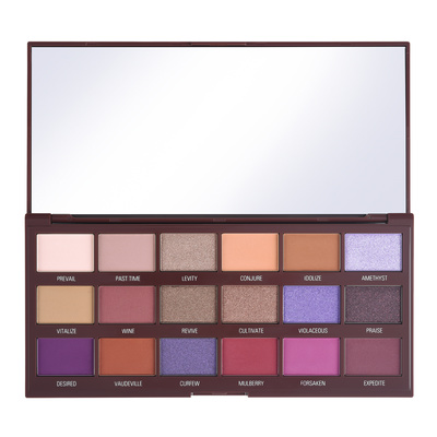 Eyeshadow Palette I HEART REVOLUTION Violet Chocolate 20.2g