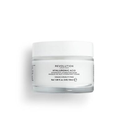Noćna maska sa hijaluronskom kiselinom za hidrataciju lica REVOLUTION SKINCARE 50ml