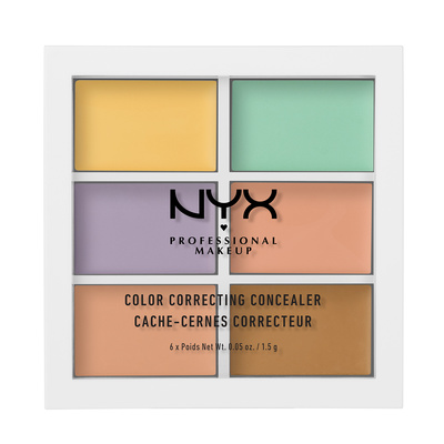 Paleta korektora NYX Professional Makeup Color Correcting 3CP04 6x1,5g