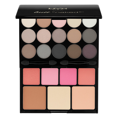 Paleta za šminkanje NYX Professional Makeup Butt Naked Eyes S122