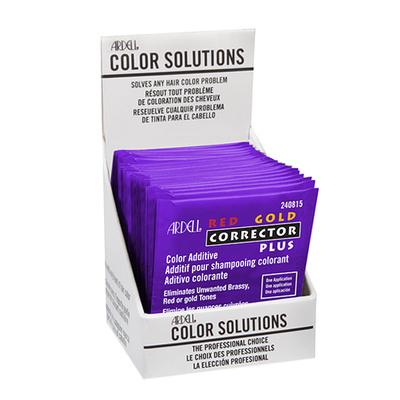 Dodatak farbi za smanjenje bakarnih i zlatnih tonova ARDELL Color Solutions Red Gold Corrector Plus 3.6ml