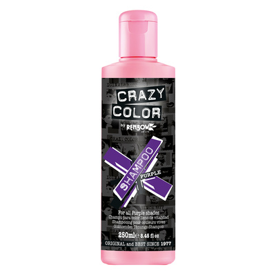Vibrant Color Shampoo Sulfate Free CRAZY COLOR Purple 250ml
