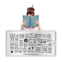 Šablon za pečate MOYOU Literature 09