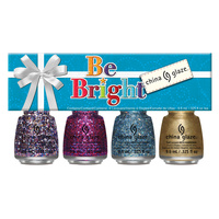 Set lakova za nokte CHINA GLAZE Be Bright 4x9.76ml