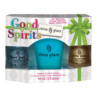 Set lakova za nokte CHINA GLAZE Good Spirits 2x14ml