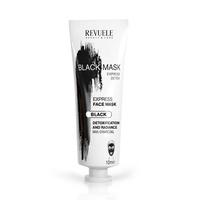 Crna maska sa aktivnim ugljem za dubinsko čišćenje kože lica, REVUELE Express Detox 80ml