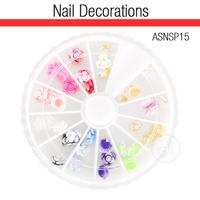 Ukrasi za Nail Art 3D cveće ASNSP15