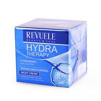 Noćna krema za intezivnu hidrataciju kože lica REVUELE Hydra Therapy 50ml