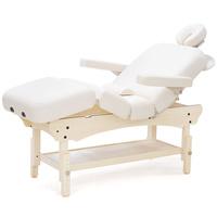 Kozmetički krevet za masažu, depilaciju i tretmane SPA NATURAL Archer Deluxe četvorodelni podesiv