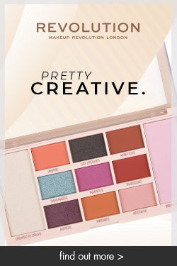 makeup revolution palette pretty creative