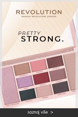makeup revolution paleta za 1din pretty strong