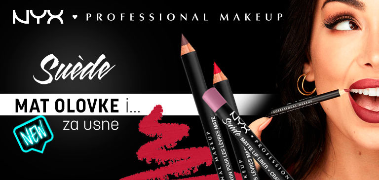 nyx professional makeup suede mat olovke za usne