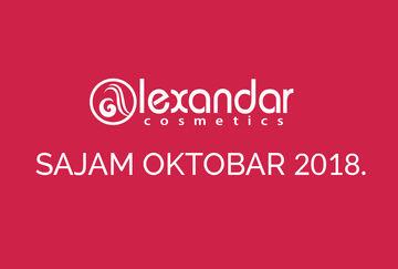"Sajam kozmetike ""Dodir Pariza"" Beograd - oktobar 2018."