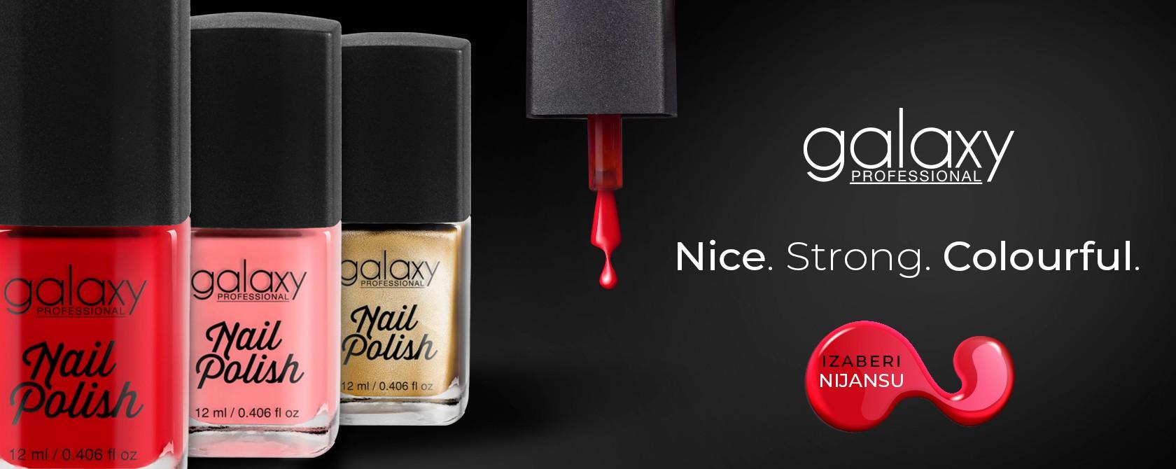 galaxy nail polish
