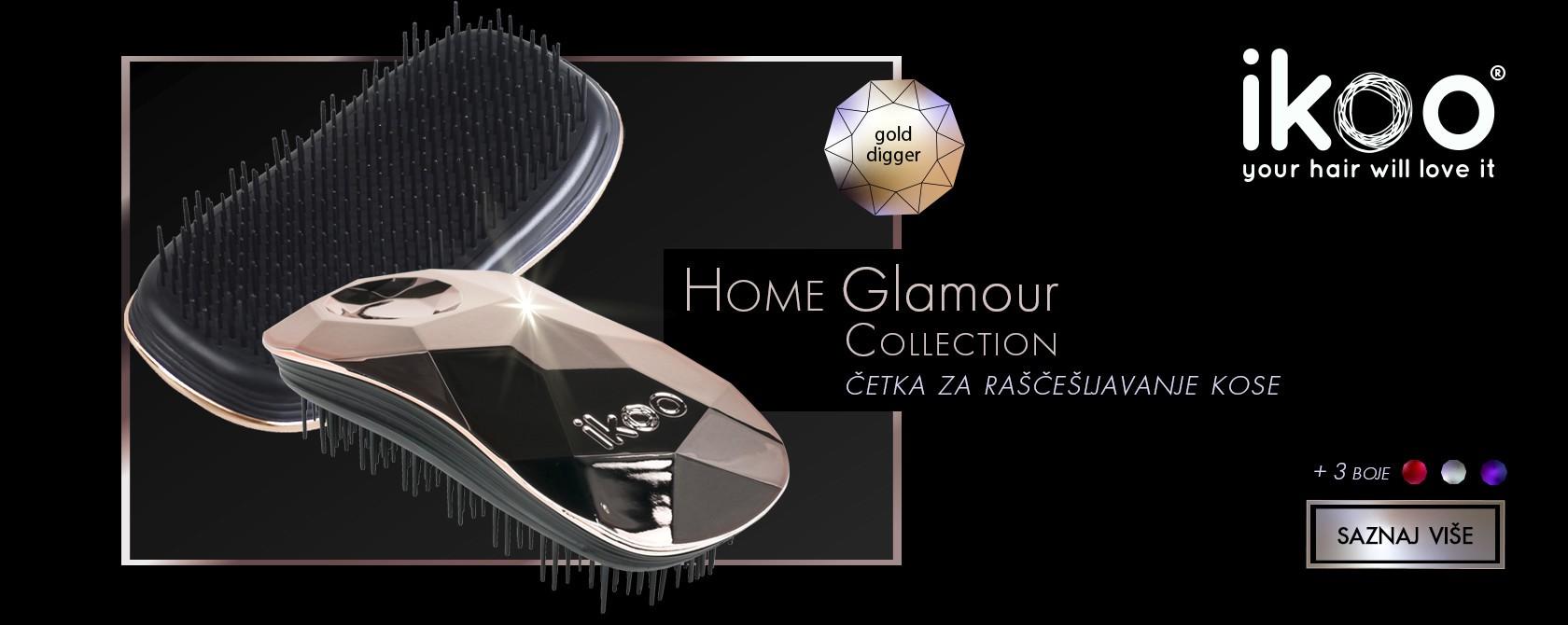detangling hair brush ikoo glamour