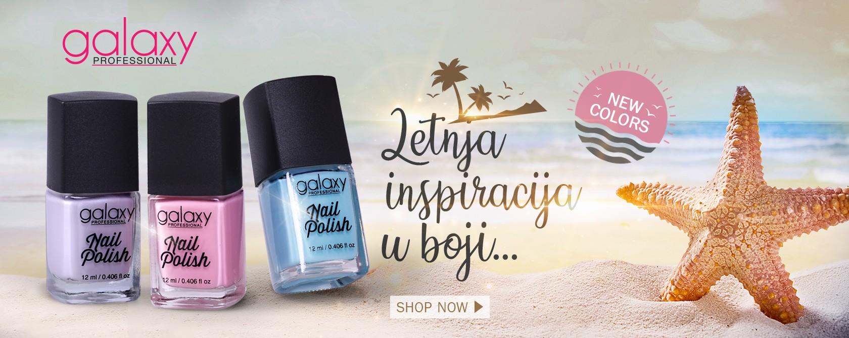 Galaxy nail polish new color