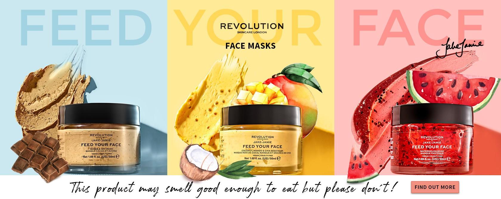 Revolution Skincare Jake Jamie FACE MASKS