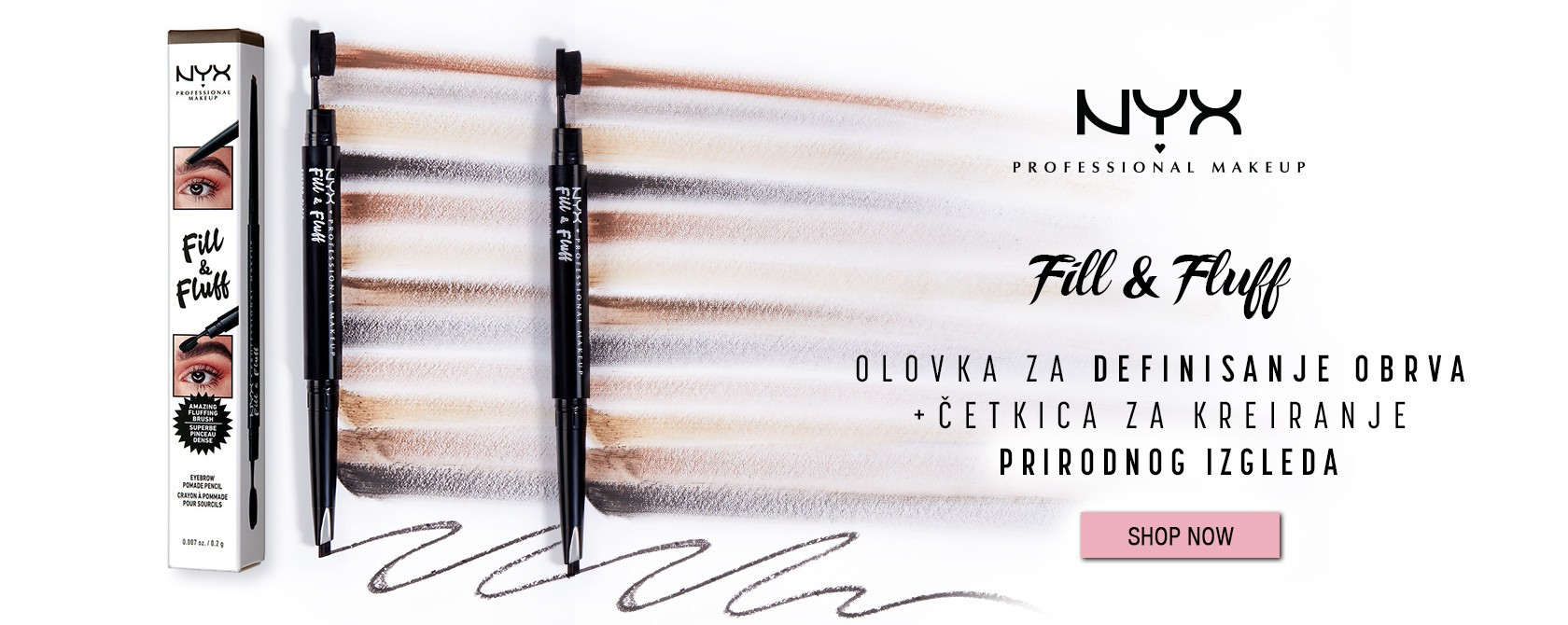 NYX Professional Makeup olovka za obrve